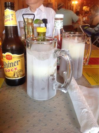 Ice cold beer picture of acadiana cafe san antonio for Acadiana cafe cajun cuisine san antonio tx