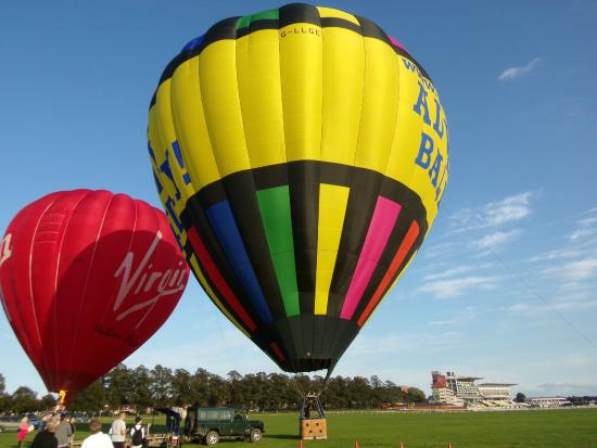 sunset picture of adventure balloons hartley wintney tripadvisor