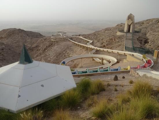 Mercure Grand Jebel Hafeet Al Ain: Toboggan run