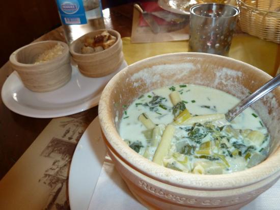 Auberge de la Halle: Soup