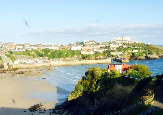 Tregella Hotel Newquay: View from our room.