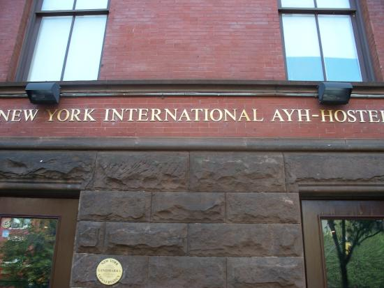 Hostelling International - New York: The Front of the Hostel