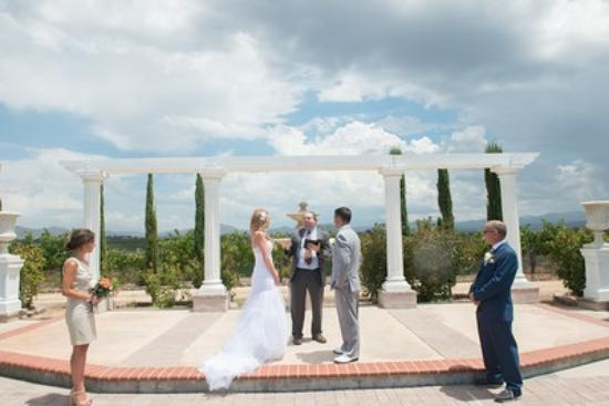 Mount Palomar Winery Our Wedding Ceremony At