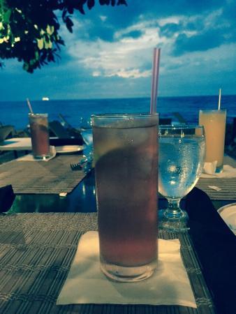 Smoked Marlin: Rum Buck & breathtaking sunset