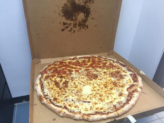 Great big pizza