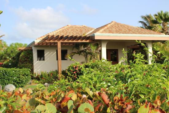Guavaberry Spring Bay Vacation Homes: A Studio bungalow.  Very private, nice view.  Excellent for two.