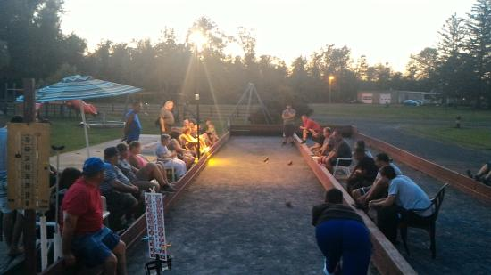 Pollace's Family Vacation Resort: Annual bocce tournament