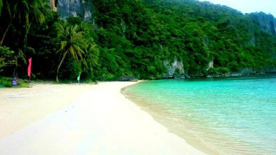 Greenviews Resort Corong-Corong: island tour papaya beach one of the best