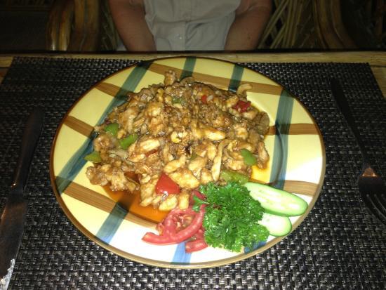 Restaurant Jumanji: lamb dish