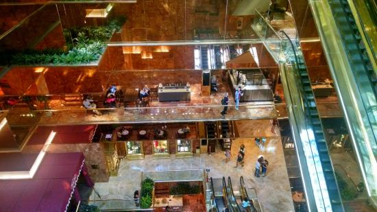 Inside trump tower picture of trump tower new york city for Nyc what to do