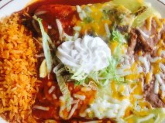 Calvillo's Mexican Restaurant: off the create your own menu