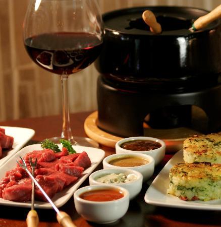 Restaurant La Creperie: Fondue de carne