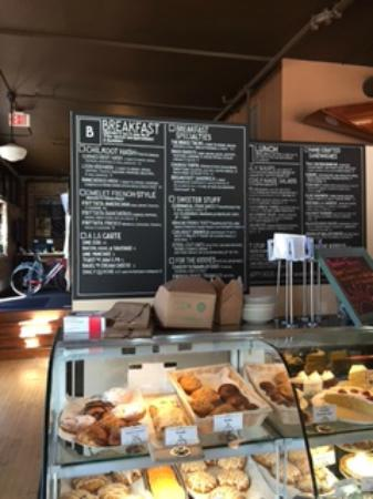 Chilkoot Cafe & Cyclery: full menu