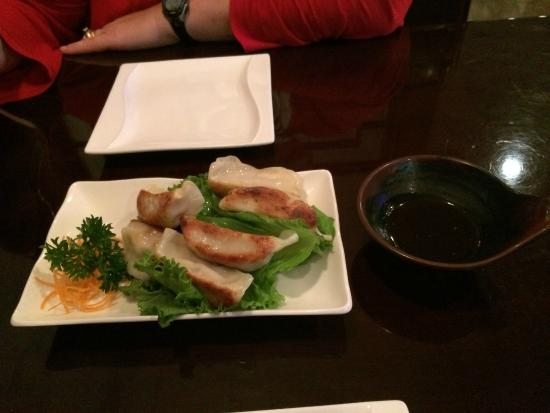 Lansing, KS: Steamed dumplings appetizer