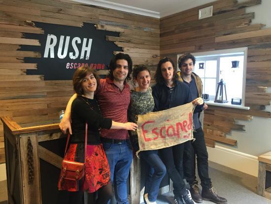Rush Escape Room Melbourne