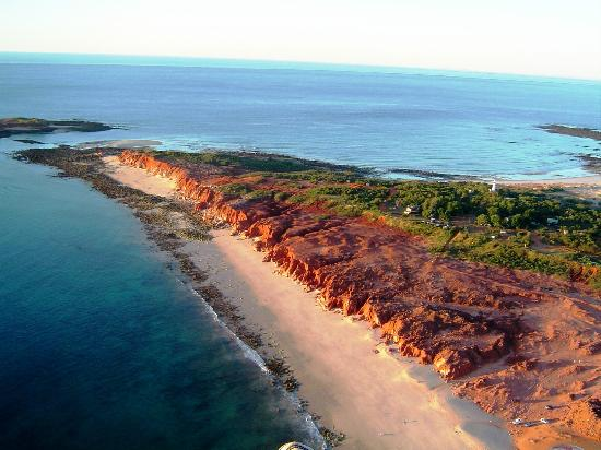 Dampier Peninsula, Australia: Bird's eye view of Cape Leveque