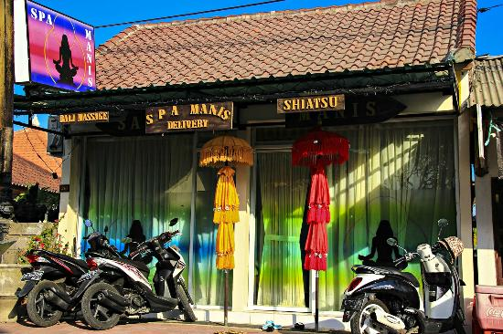 canggu spa manis massage one hour 65 000 roupia