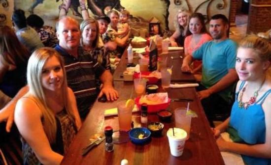Gringos Mexican Kitchen Family Dinner At