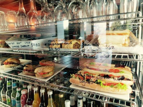 Cafe Gusto : Fresh selection of savoury cabinet foods