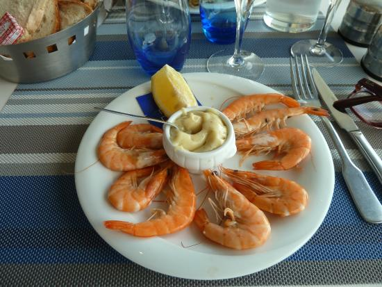 Le Trestrignel : The shrimps tasted so fresh