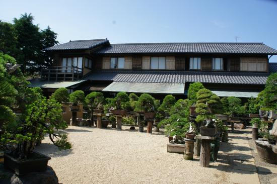 Edogawa, Japan: A traditional Japanese House in Shunka-en BONSAI Museum