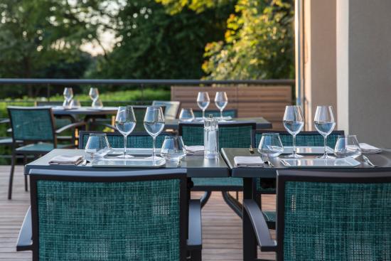 Le Tronchet, Frankrig: La terrasse