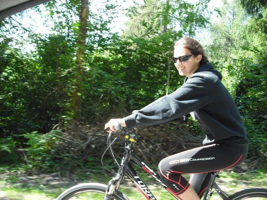 Rifugio Pra' Rodont: Discesa in bici