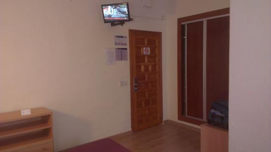 Hotel Kristal : Zona Dormitorio