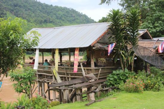 Wiang Kaen, Thailand: Kleines Restaurant