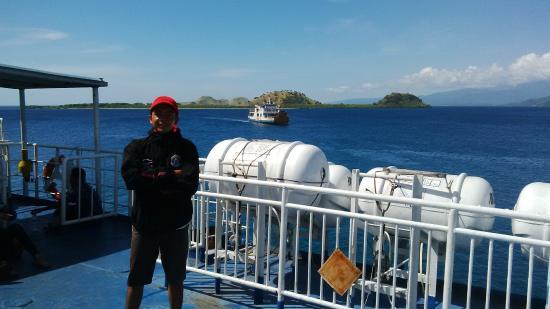 Kanawa Island Diving: On the way to mataram timur (east mataram) from Kenawa Island