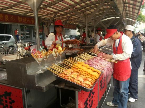 Piao Home Inn Beijing Wangfujing: Day Food market / Dong'anmen Main Sreet