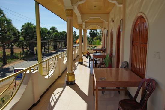 Victoria guest house balcon terrasse salon