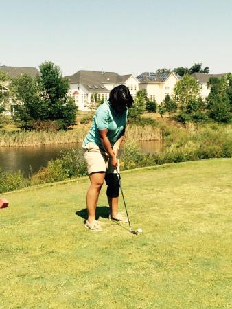 Beltsville, MD: Birthday fun at the golf course