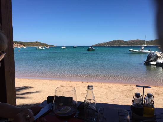La nature le calme la tranquillit le farniente c 39 est l picture of restaurant maora beach - Restaurant corse du sud ...