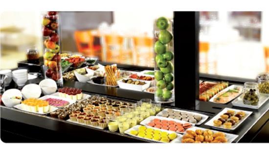 Campanile Villeneuve St Georges : Buffets verrines