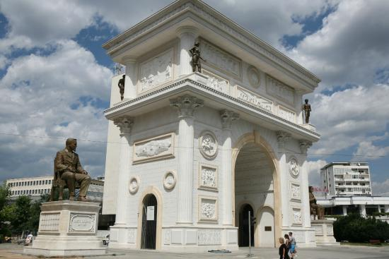 Porta Macedonia aka Gate Macedonia