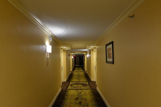 Holiday Inn Tewksbury Andover: Hallway