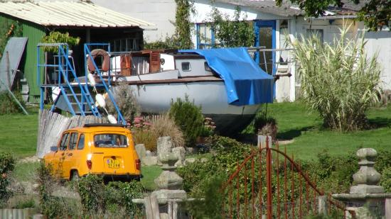 La Grange Bretagne : Arrivée au port...