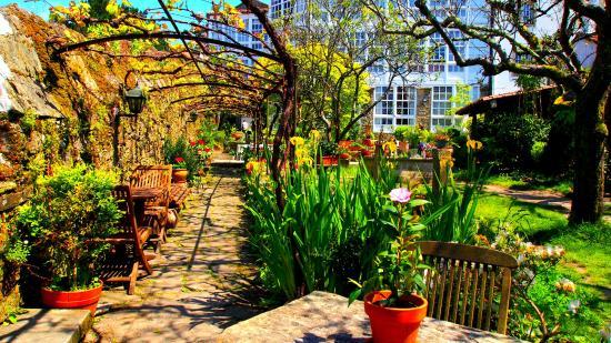 cafe jardin costa vella santiago de compostela fotos