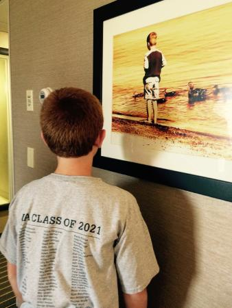 West Bay Beach, a Holiday Inn Resort: Room decor matched my son (: