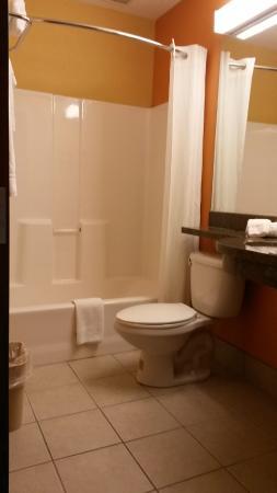 Microtel Inn & Suites by Wyndham Princeton: Bathroom