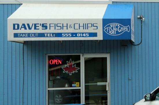 Daves Fish & Chips : Dave's Fish & Chips side take-out entrance