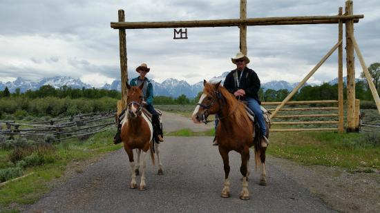Moose Head Ranch: Moosehead gate