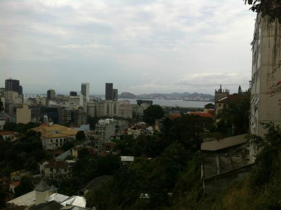 Terra Brasilis Hostel: detalhes da vista que se tem do hostel