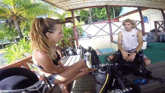 เกาะพราสลิน, เซเชลส์: Very Nice Dive!! Professional & Fun!!