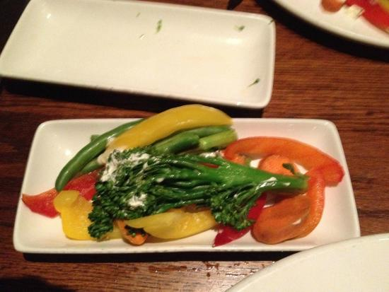 Keg Steakhouse & Bar: Side of Garden Veggies, These came hard and cold.