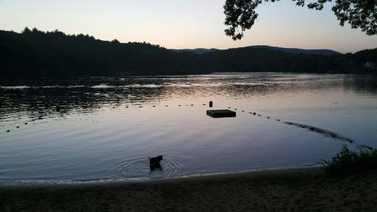 Lake Luzerne, NY: Sunsets and S'mores