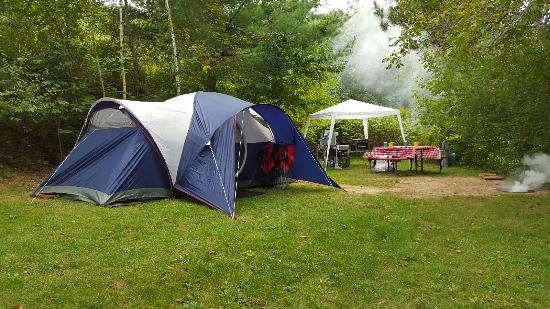 Tunnel Trail Campground : campsite 2