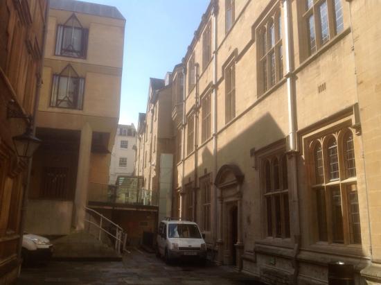 Jesus College, Oxford University: Location of Room