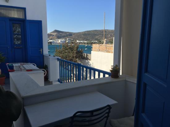 """Heliotropio Hotel: The """"partial sea view"""""""